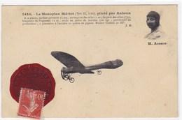 Le Monoplan Blériot (type XI, 2 Bis), Piloté Par Aubrun - Avions