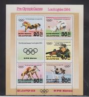 Korea Block 143 Mit 2355-2359 ** Postfrisch Olympische Spiele #RO015 - Korea (Nord-)