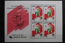 Korea Block 525 Mit 1485 ** Postfrisch Olympische Spiele #RQ124 - Korea (Nord-)