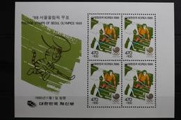 Korea Block 526 Mit 1486 ** Postfrisch Olympische Spiele #RQ125 - Korea, North