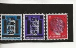 Timbres ** Hitler Surchargés.-Sachsen - Allemagne