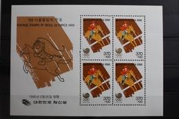 Korea Block 510 Mit 1439 ** Postfrisch Olympische Spiele #RM911 - Korea, North