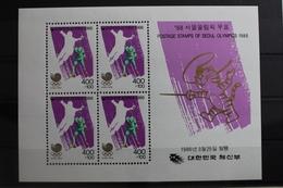 Korea Block 511 Mit 1440 ** Postfrisch Olympische Spiele #RM910 - Korea, North