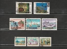 Liban Lot 8 Timbres - Année 1971 YT PA 532 Et PA 534 - Année 1967 YT PA413, PA416, PA419 - Année 1966 YT 261, 262, PA390 - Libanon