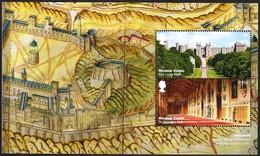 2017 PANE FROM PRESTIGE BOOKLET WINDSOR CASTLE - Carné
