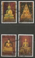 Thailand - 1995 Visakha Puja Day Used    Sc 1608-11 - Thailand