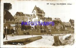 105614 CHILE ROSS MIRAMAR CASTILLA CASTLE POSTAL POSTCARD - Chile