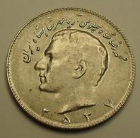 1978 - Iran - 2537 - 10 RIALS, Mohammad Reza Pahlavi - KM 1179 - Iran