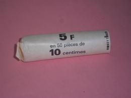 FRANCE - 1 ROULEAU DE 50 PIECES DE 10 CENTIMES MARIANNE - MILLESIMES NON VISIBLES - - C. 5 Centimes