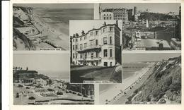 REAL PHOTOGRAPHIC MULTIVIEW POSTCARD - BOSCOBEL HALL HOTEL BOURNEMOUTH - HAMPSHIRE - Bournemouth (until 1972)