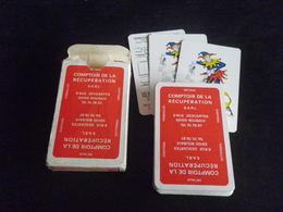 Jeu De 52 Cartes à Jouer - ROUBAIX - Comptoir De La Récupération - 54 Cards
