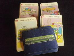 Jeu De 7 Familles - TRANSPORT - Cartes à Jouer