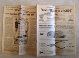 Catalogue De Fournitures Pour Montres Fisseau Cochot 1931 , 52 Pages - Bijoux & Horlogerie