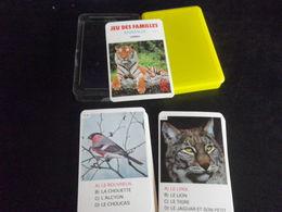 Jeu De Familles - ANIMAUX - HEMMA - Quartet - 3 - Playing Cards