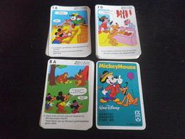 Jeu De Familles - ANIMAUX - SCHMID - Quartet MICKEY MOUSE - WALT DISNEY - 71400 WD - Playing Cards