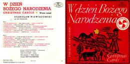 Superlimited Edition CD S.Niewiadomski. CHRISTMAS CAROLS - Chants De Noel