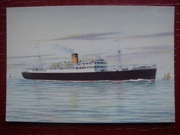 Paquebot M/s LYDIA - The Hellenic Mediterranean Lines CoLtd . PIRAEUS - Paquebots