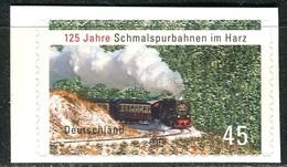 BRD - Mi 2916 Gestanzt Aus FB 20 - ** Postfrisch (C) - 45C      125 Jahre Schmalspurbahnen Harz - Neufs