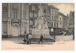 Courtrai  Le Monument De Haerne Ed.V.G. - Kortrijk