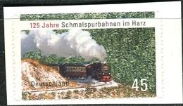 BRD - Mi 2916 Gestanzt Aus FB 20 - ** Postfrisch (D) - 45C      125 Jahre Schmalspurbahnen Harz - Neufs