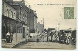 JEUMONT - Rue D'Erquelinnes Et Douane Française - Jeumont