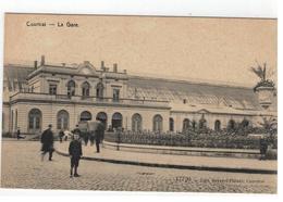 Courtrai  La Gare.  17720 - Edit.Beyaert-Filleul - Kortrijk