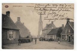 Bikschote BIXSCHOOTE.  Plaatsstraat.  Feldpost 1915 - Langemark-Poelkapelle