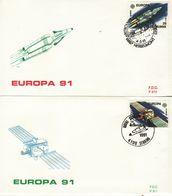BELGIUM  1991 EUROPA CEPT   FDC - Europa-CEPT