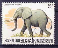Burundi YT 868 Obl , WWF (4Z3H) - Burundi