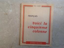 Spartacus La 5eme Colonne Par Clerey 1951 32 Pages - Livres, BD, Revues