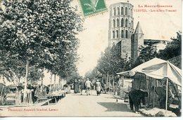 165. CPA 31 VERFEIL. LES ALLEES FRASCATI 1906 - Verfeil