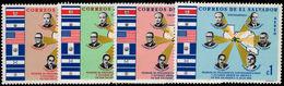 El Salvador 1968 Lyndon B Johnson Unmounted Mint. - El Salvador