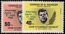 El Salvador 1969 First Man On The Moon Unmounted Mint. - El Salvador