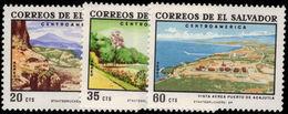 El Salvador 1969 Tourism Air Set Unmounted Mint. - El Salvador