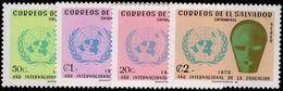 El Salvador 1970 International Education Year Unmounted Mint. - El Salvador