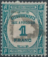 FRANCE - Timbre Taxe No 60  1Fr - France