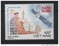 Vietnam ** N° 1913 - 55e Ann. Des Poste Et Télécom. Vietnamiennes - Vietnam