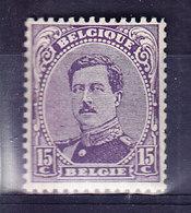 COB 139 ** MNH.  (6C33) - 1915-1920 Albert I