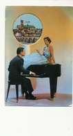 Carte Parfumée De Luxe Jasmin De Fragonard Grasse Femme Sexy Piano Ville De Nevers - Mechanical
