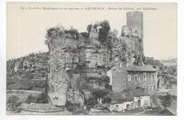 Gavaudun - Ruines Du Château Côté Sud-Ouest - Autres Communes