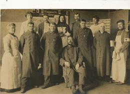 Real Photo Hopital Croix Rouge Sainte Colombe 6 Fevrier 1915 154 Eme 85 Eme 29 Eme Honneur Aux Braves - Croix-Rouge