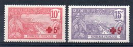 GUADELOUPE - YT N° 75-76 - Neufs * - MH - Cote: 17,00 € - Unused Stamps