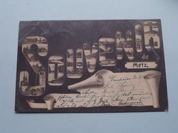Souvenir De METZ ( Mikroskop - Carl H. Odemar ) Anno 1904 ( Voir Photo Svp ) ! - Metz