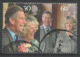 Great Britain 2005. Scott #2279ab (U) Wedding Of Prince Charles And Camilla Parker Bowles * - 1952-.... (Elizabeth II)
