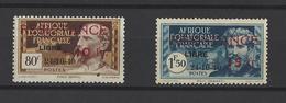 A.E.F. YT  N° 181/182  Neuf *  1944 - Neufs