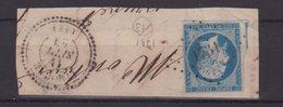 """FRANCE : PC 1731 . """" LIMOGNE  """" . (44) . N° 14 . TB . SUR FGT . - Marcophilie (Timbres Détachés)"""