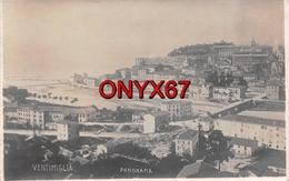 Carte Postale Photo VINTIMILLE-VENTIMIGLIA (Impéria-Ligurie) Vue Sur La Ville -VOIR 2 SCANS - - Imperia