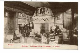 CPA - Cartes Postales -France -Montrésor- Son Château- Le Fumoir- S4455 - Montrésor