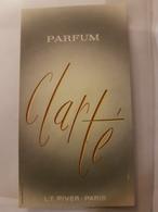 ANCIENNE CARTE PARFUMEE PIVER CLARTE - Perfume Cards