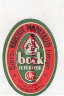 87- LIMOGES- ETIQUETTE BIERE BRASSERIE NARCISSE MAPATAUD - BOCK SUPERIEUR - Bière